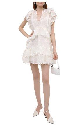Женское платье ZIMMERMANN белого цвета, арт. 1764DMAE   Фото 2