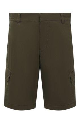 Мужские хлопковые шорты BOGNER хаки цвета, арт. 18173753 | Фото 1