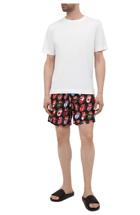 Мужские плавки-шорты MC2 SAINT BARTH черного цвета, арт. STBM LIGHTING/LIG0001 | Фото 2