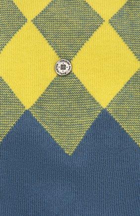Мужские хлопковые носки BURLINGTON желтого цвета, арт. 21912 | Фото 2