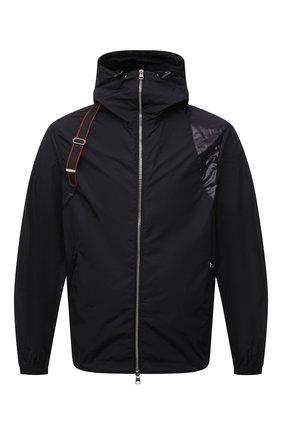 Мужская куртка ALEXANDER MCQUEEN черного цвета, арт. 662324/QRR21 | Фото 1