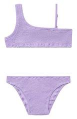 Детского раздельный купальник MC2 SAINT BARTH фиолетового цвета, арт. STBK VIVY W/VIVY001 | Фото 1