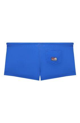 Детские плавки MC2 SAINT BARTH синего цвета, арт. STBK T0BAG0 LUC/T0B0001   Фото 2