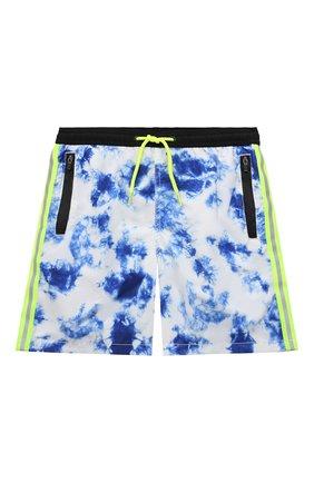 Детские плавки-шорты MC2 SAINT BARTH синего цвета, арт. STBK LIGHTING SUBMARINE/LIG0012   Фото 1