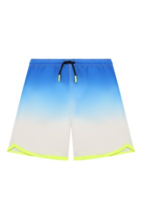Детские плавки-шорты MC2 SAINT BARTH синего цвета, арт. STBK KYTE JR/KYTE002   Фото 1