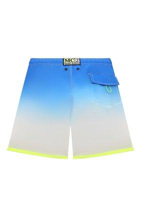 Детские плавки-шорты MC2 SAINT BARTH синего цвета, арт. STBK KYTE JR/KYTE002   Фото 2