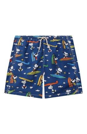 Детские плавки-шорты MC2 SAINT BARTH темно-синего цвета, арт. STBK JEAN LIGHTING/JEA0004/SNSF61   Фото 1