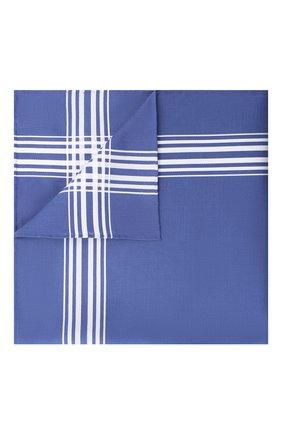 Мужской хлопковый платок SIMONNOT-GODARD синего цвета, арт. M0NTMARTRE | Фото 1