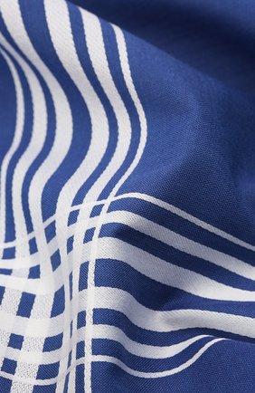 Мужской хлопковый платок SIMONNOT-GODARD синего цвета, арт. M0NTMARTRE | Фото 2
