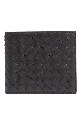 Кожаное портмоне с плетением intrecciato | Фото №1