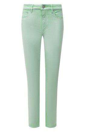 Женские джинсы RALPH LAUREN светло-зеленого цвета, арт. 290840803 | Фото 1