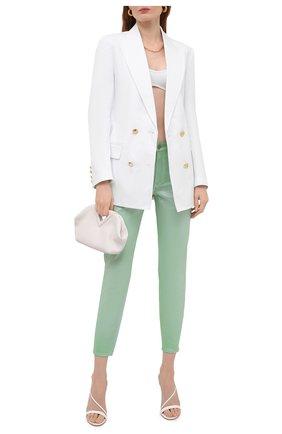 Женские джинсы RALPH LAUREN светло-зеленого цвета, арт. 290840803 | Фото 2