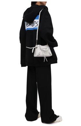 Женский хлопковый кардиган VETEMENTS черного цвета, арт. UA52TR780B 1601/W | Фото 2