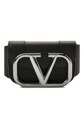 Кожаная поясная сумка Supervee | Фото №1