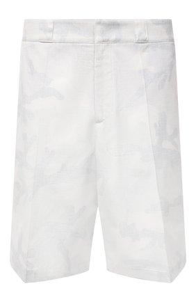 Мужские хлопковые шорты VALENTINO белого цвета, арт. WV3RDA937N5 | Фото 1