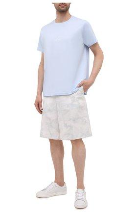 Мужские хлопковые шорты VALENTINO белого цвета, арт. WV3RDA937N5 | Фото 2