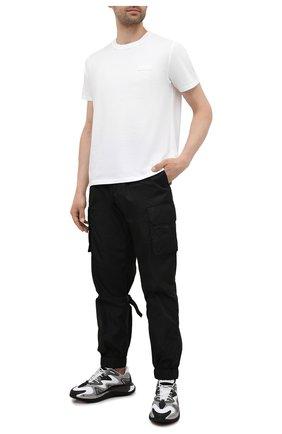 Мужская хлопковая футболка VALENTINO белого цвета, арт. WV3MG08G6LC | Фото 2
