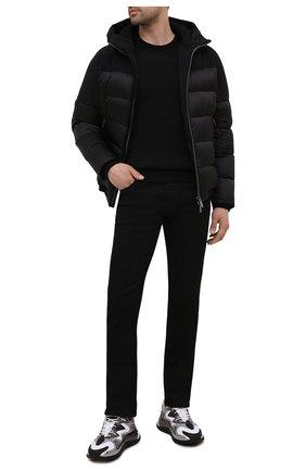 Мужские джинсы JACOB COHEN черного цвета, арт. J688 ECCELLENZA C0MF 02304-W1/55 | Фото 2