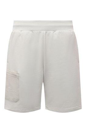 Мужские хлопковые шорты A-COLD-WALL* серого цвета, арт. ACWMB054   Фото 1 (Материал внешний: Хлопок; Принт: Без принта; Длина Шорты М: До колена; Стили: Минимализм; Кросс-КТ: Трикотаж)