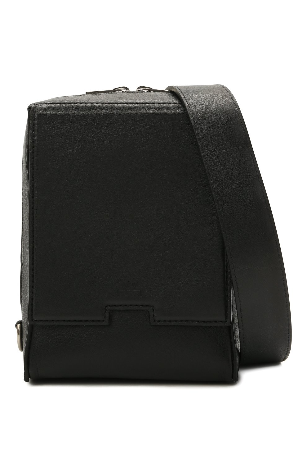 Мужская кожаная сумка A-COLD-WALL* черного цвета, арт. ACWUGL014 | Фото 5