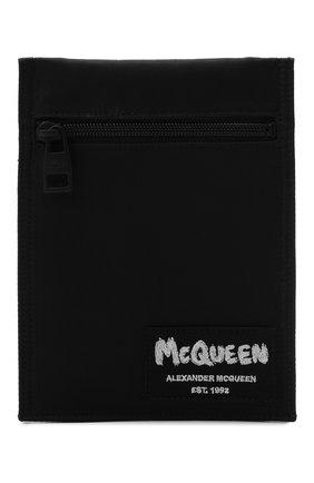 Мужская текстильная сумка ALEXANDER MCQUEEN черного цвета, арт. 663099/1AAB1 | Фото 1