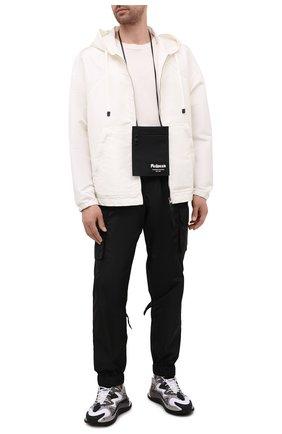 Мужская текстильная сумка ALEXANDER MCQUEEN черного цвета, арт. 663099/1AAB1 | Фото 2