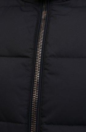 Мужской пуховый жилет fayer-wk MOORER темно-синего цвета, арт. FAYER-WK/M0UGI100180-TEPA022   Фото 5 (Кросс-КТ: Куртка, Пуховик; Материал внешний: Синтетический материал; Материал подклада: Синтетический материал; Длина (верхняя одежда): Короткие; Материал утеплителя: Пух и перо; Стили: Кэжуэл)