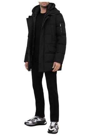 Мужская пуховик davide-stp MOORER черного цвета, арт. DAVIDE-STP/M0UGI100162-TEPA023 | Фото 2