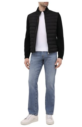 Мужская комбинированная куртка cattaneo-s3r MOORER черного цвета, арт. CATTANE0-S3R/M0UB0100003-TEPA003 | Фото 2