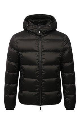 Мужская пуховая куртка brett-sh MOORER темно-зеленого цвета, арт. BRETT-SH/M0UGI100134-TEPA174 | Фото 1
