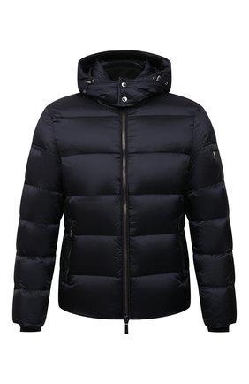 Мужская пуховая куртка brett-sh MOORER синего цвета, арт. BRETT-SH/M0UGI100134-TEPA174 | Фото 1 (Материал внешний: Синтетический материал; Материал подклада: Синтетический материал; Длина (верхняя одежда): Короткие; Рукава: Длинные; Мужское Кросс-КТ: пуховик-короткий; Кросс-КТ: Куртка; Стили: Кэжуэл; Материал утеплителя: Пух и перо)