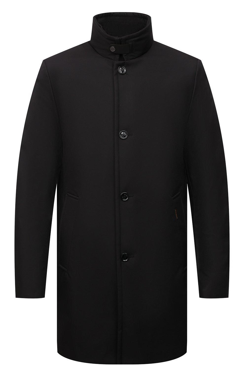 Мужская пуховик bond-wi MOORER черного цвета, арт. B0ND-WI/M0UGI100130-TEPA227   Фото 1 (Кросс-КТ: Куртка; Мужское Кросс-КТ: пуховик-короткий; Рукава: Длинные; Длина (верхняя одежда): До середины бедра; Материал внешний: Синтетический материал; Стили: Классический; Материал подклада: Синтетический материал; Материал утеплителя: Пух и перо)