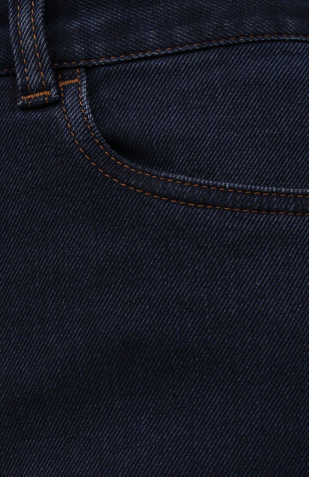 Мужские джинсы CANALI темно-синего цвета, арт. 91700R/PD00817 | Фото 5