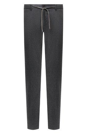 Мужские шерстяные брюки CANALI темно-серого цвета, арт. V1659/AR03472 | Фото 1