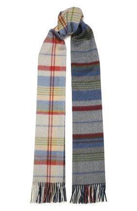 Мужской кашемировый шарф LORO PIANA разноцветного цвета, арт. FAL5698 | Фото 1