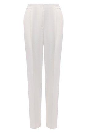 Женские брюки BOSS белого цвета, арт. 50456072 | Фото 1