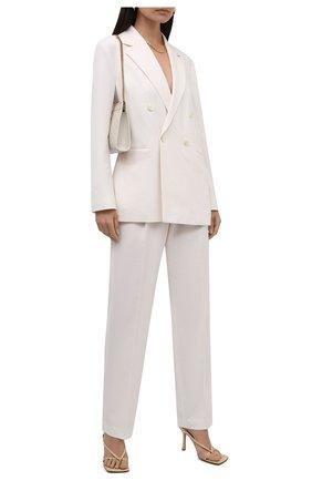 Женские брюки BOSS белого цвета, арт. 50456072 | Фото 2