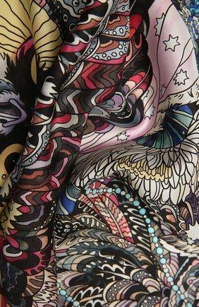 Женский шелковый платок expert RADICAL CHIC розового цвета, арт. 271371.07.02   Фото 2
