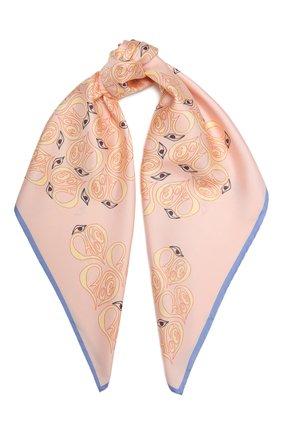 Женский шелковый платок CHLOÉ разноцветного цвета, арт. CHC21UT077SLK | Фото 1
