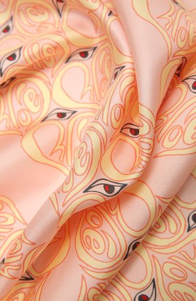 Женский шелковый платок CHLOÉ разноцветного цвета, арт. CHC21UT077SLK | Фото 2