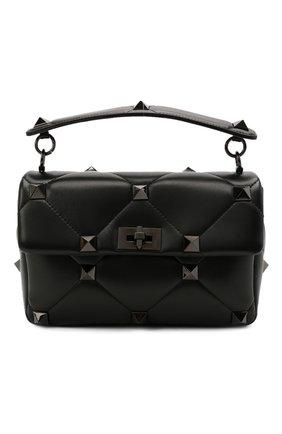 Женская сумка roman stud large VALENTINO черного цвета, арт. WW2B0I60/LWB | Фото 1