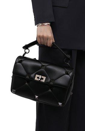 Женская сумка roman stud large VALENTINO черного цвета, арт. WW2B0I60/LWB | Фото 2