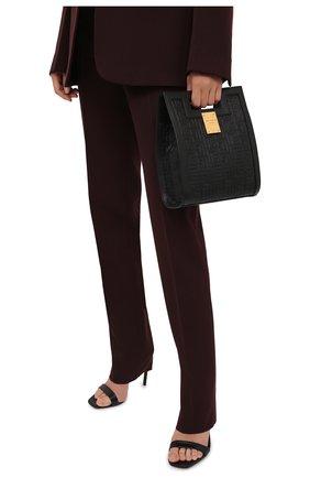 Женский сумка-тоут 1945 small BALMAIN черного цвета, арт. WN1BK657/LESP | Фото 2