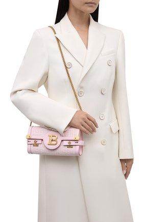 Женская сумка buzz 23 BALMAIN розового цвета, арт. WN1LE596/TJGH | Фото 2