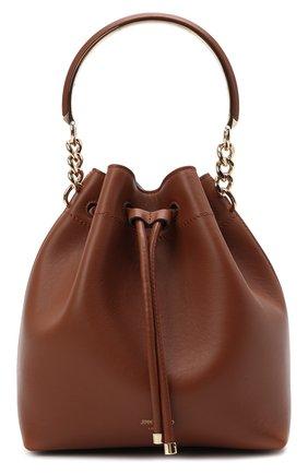 Женская сумка bon bon JIMMY CHOO коричневого цвета, арт. B0N B0N BUCKET/CLF | Фото 1
