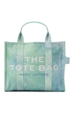 Женский сумка-тоут the traveller small MARC JACOBS (THE) голубого цвета, арт. H014M02PF21   Фото 1