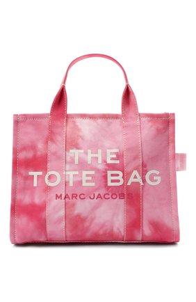 Женский сумка-тоут the traveller small MARC JACOBS (THE) розового цвета, арт. H014M02PF21   Фото 1