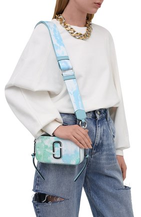 Женская сумка snapshot small MARC JACOBS (THE) голубого цвета, арт. H122L01PF21   Фото 2