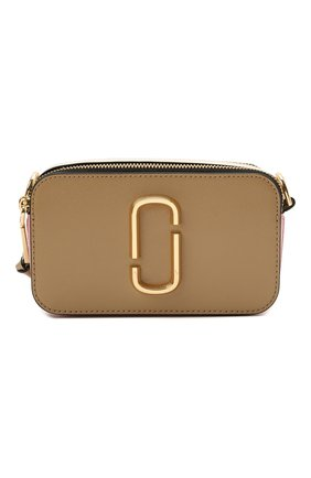 Женская сумка snapshot small MARC JACOBS (THE) бежевого цвета, арт. M0012007   Фото 1