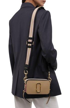 Женская сумка snapshot small MARC JACOBS (THE) бежевого цвета, арт. M0012007   Фото 2